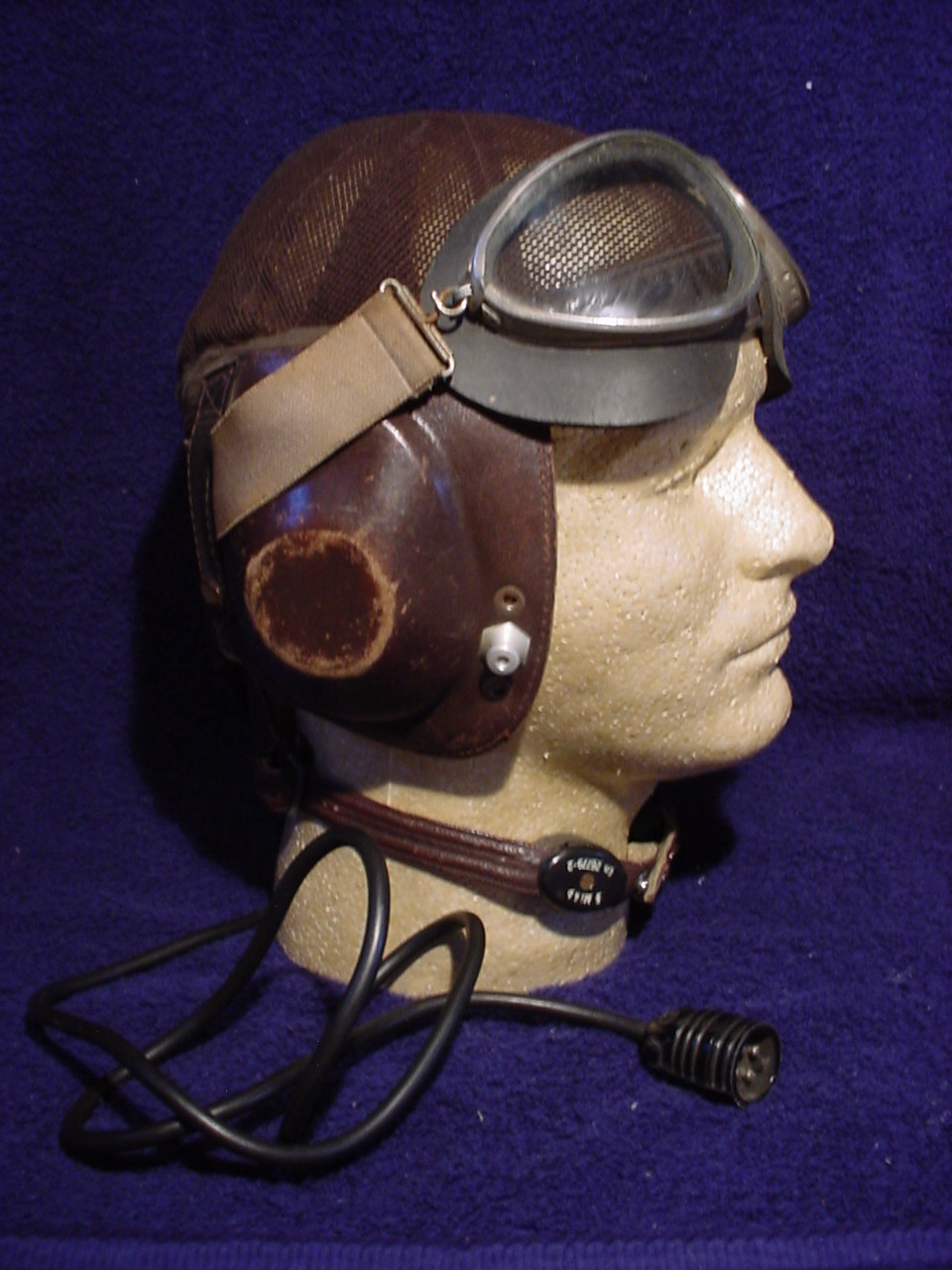 Fighter Pilot Motorcycle Helmet The Luftwaffe 1939-194...